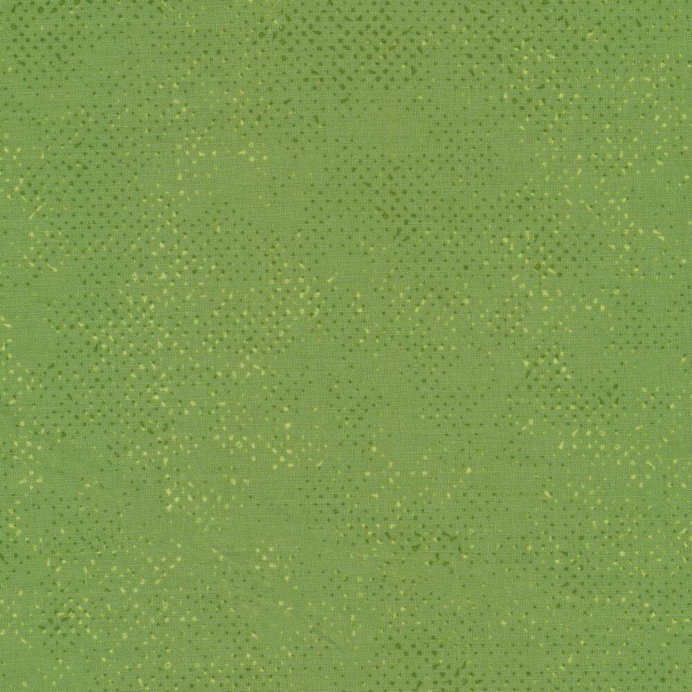 Green tonal textured fabric | Shabby Fabrics