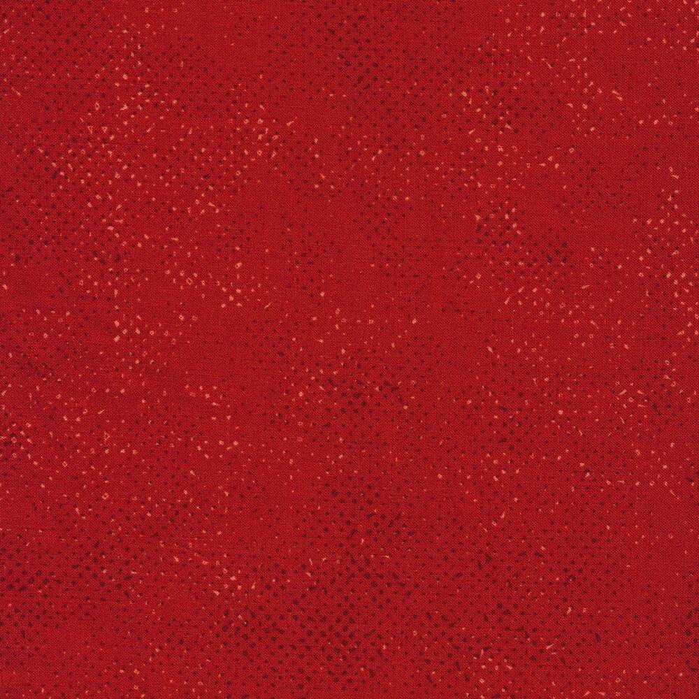 Red tonal spotted fabric | Shabby Fabrics