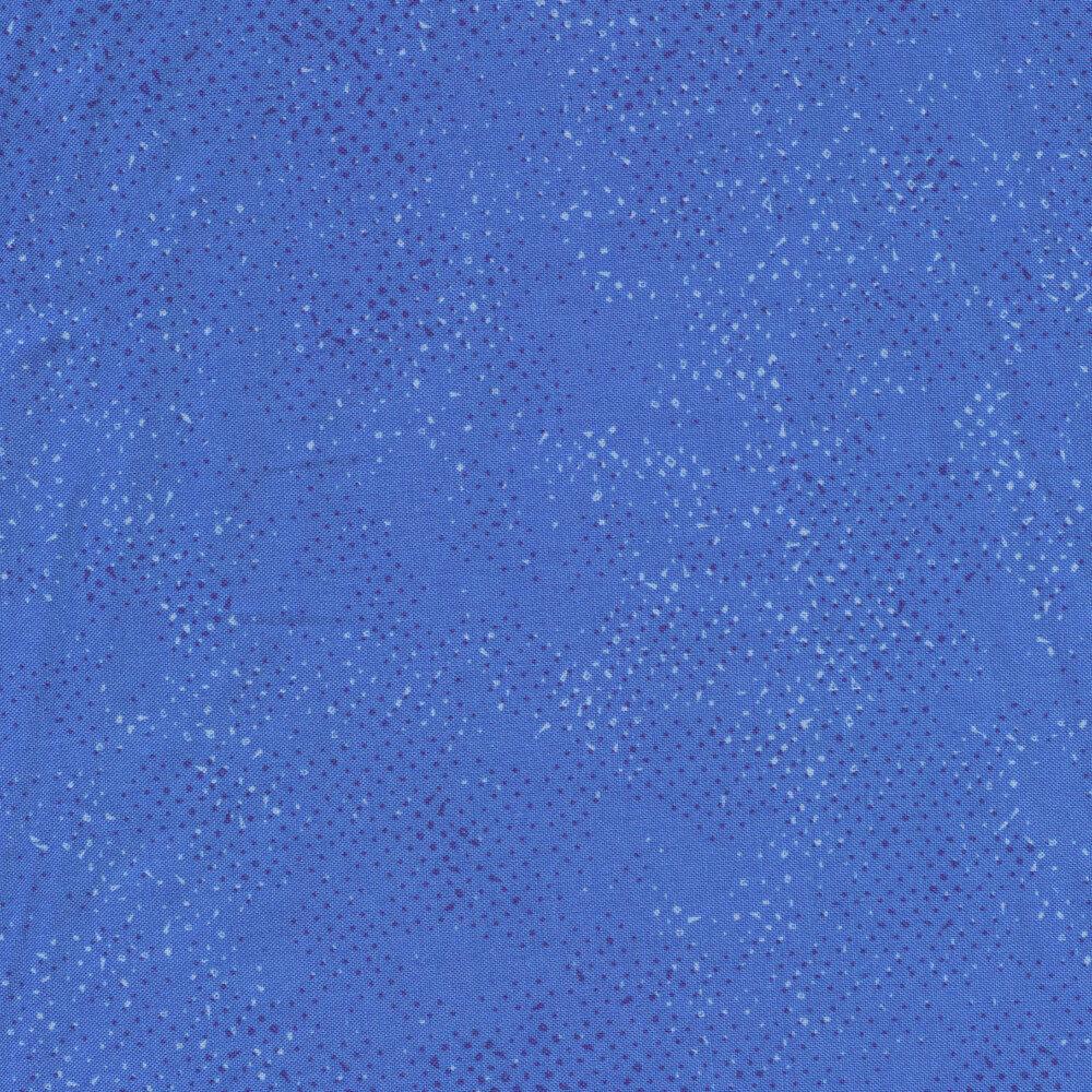 Tonal blue spotted fabric | Shabby Fabrics