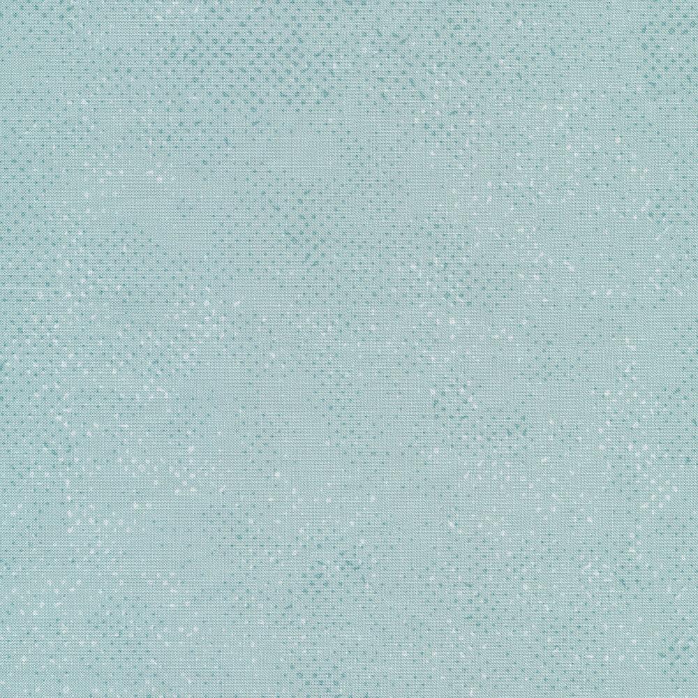 Tonal baby blue spotted fabric | Shabby Fabrics