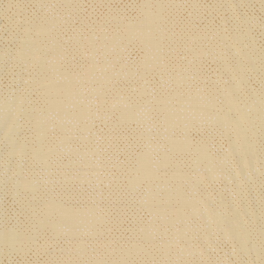 Sand colored fabric with tonal spots and texture | Shabby Fabrics