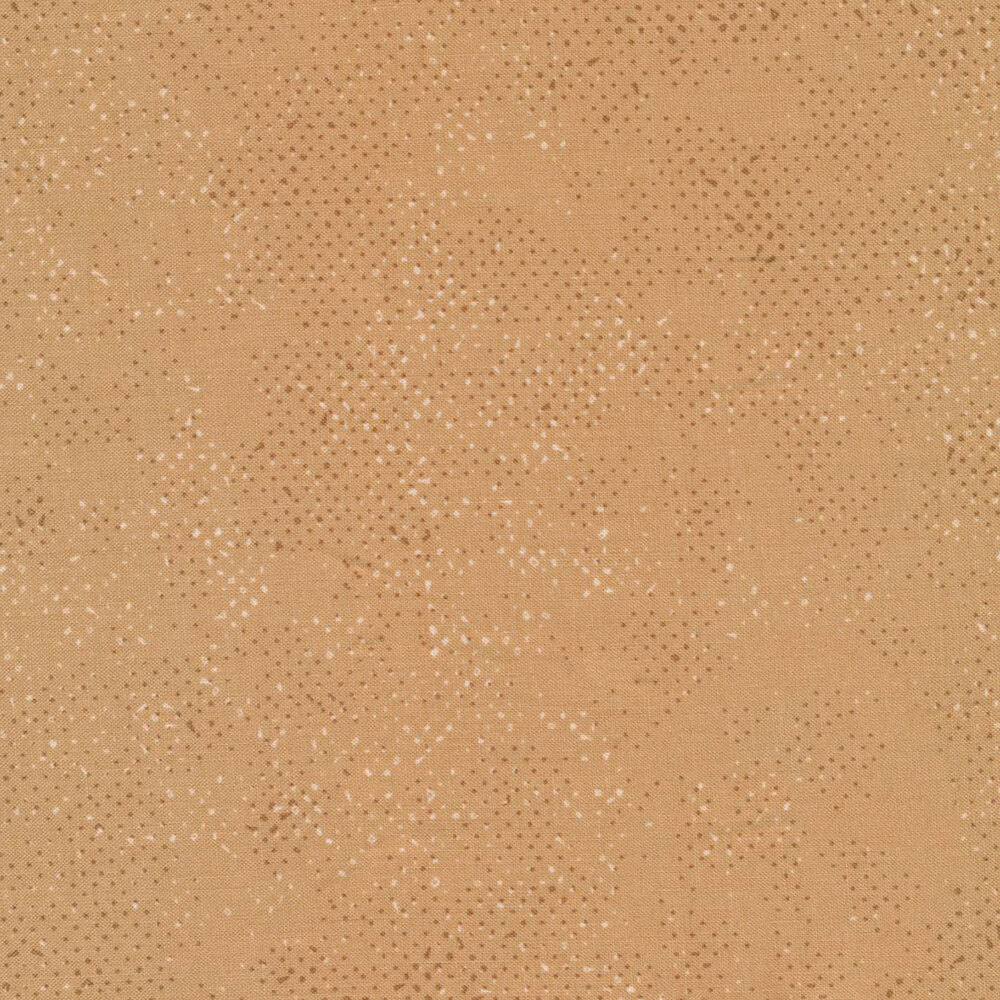 Dark taupe colored fabric with tonal spots and texture | Shabby Fabrics