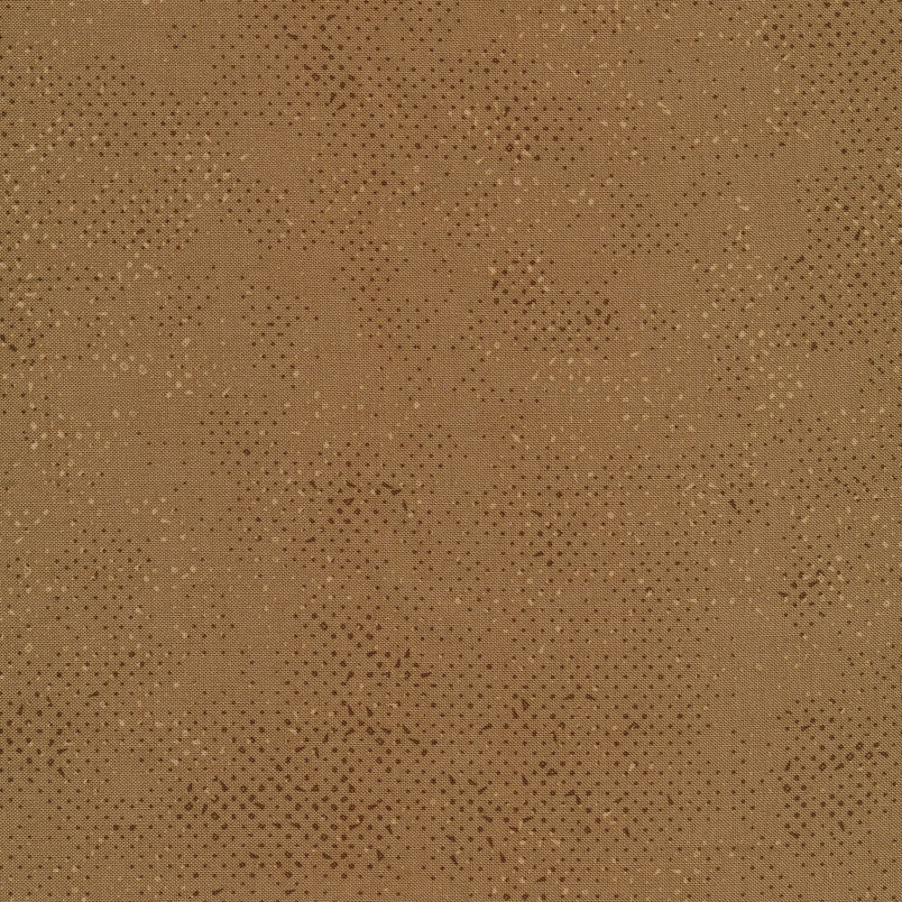 Dark brown fabric with tonal spots and texture | Shabby Fabrics