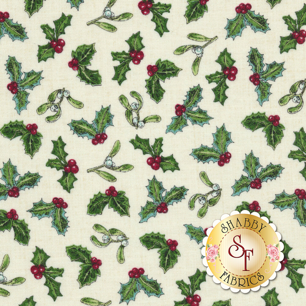 Spruce Mountain 22231-11 Cream by Northcott Fabrics