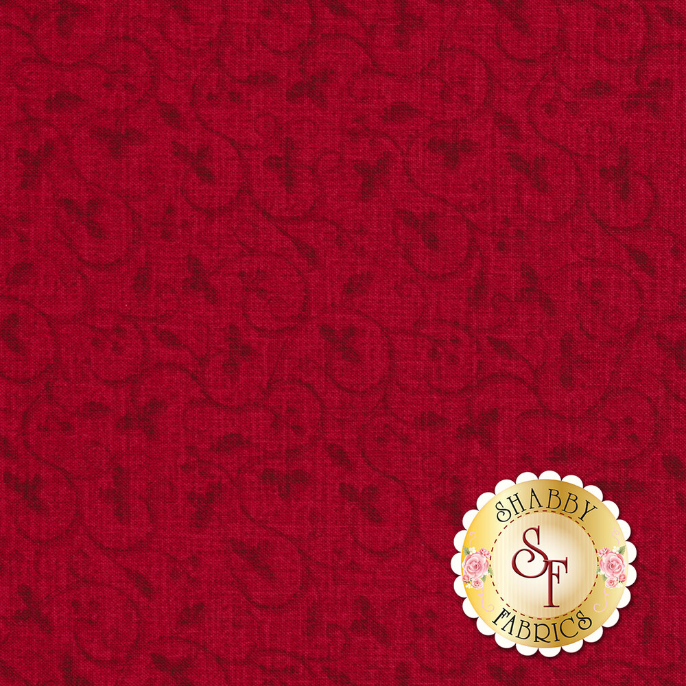 Spruce Mountain 22233-24 Red by Northcott Fabrics