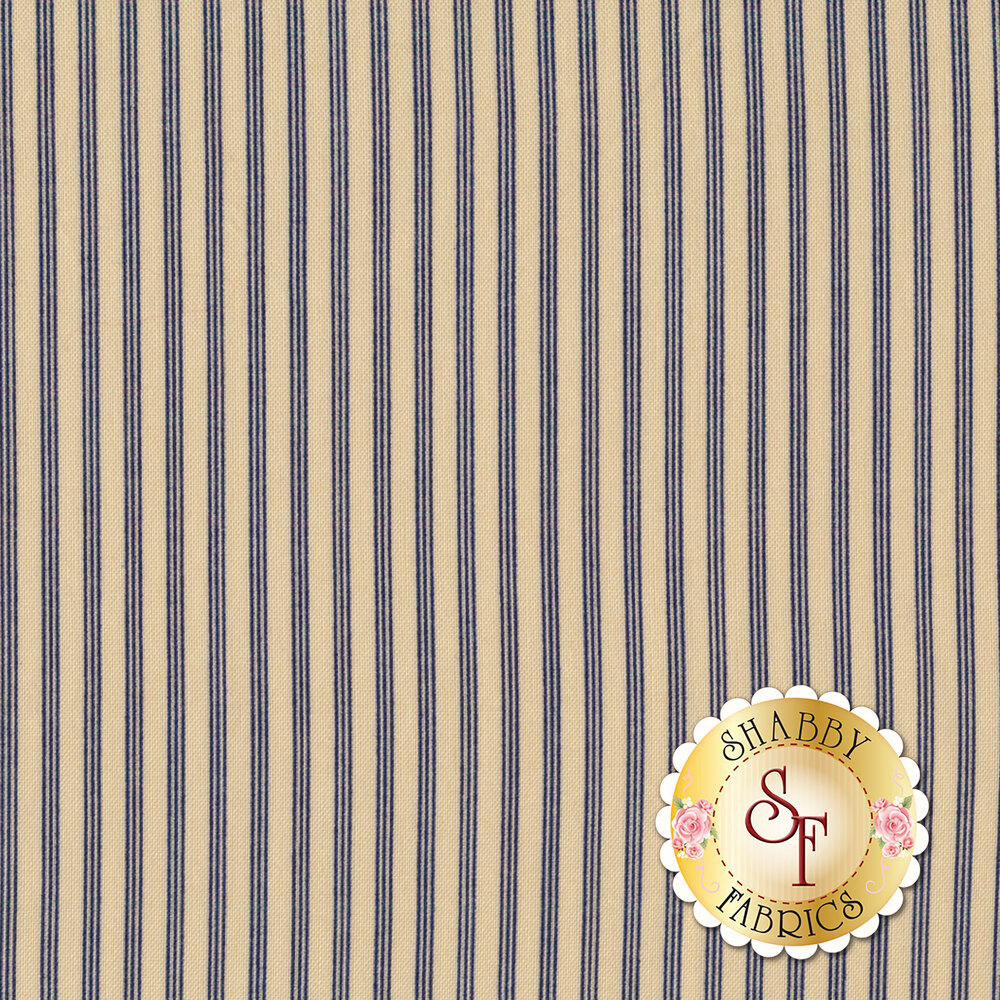 Star & Stripe Gatherings 1269-14 Triple Stripe Tan for Moda Fabrics