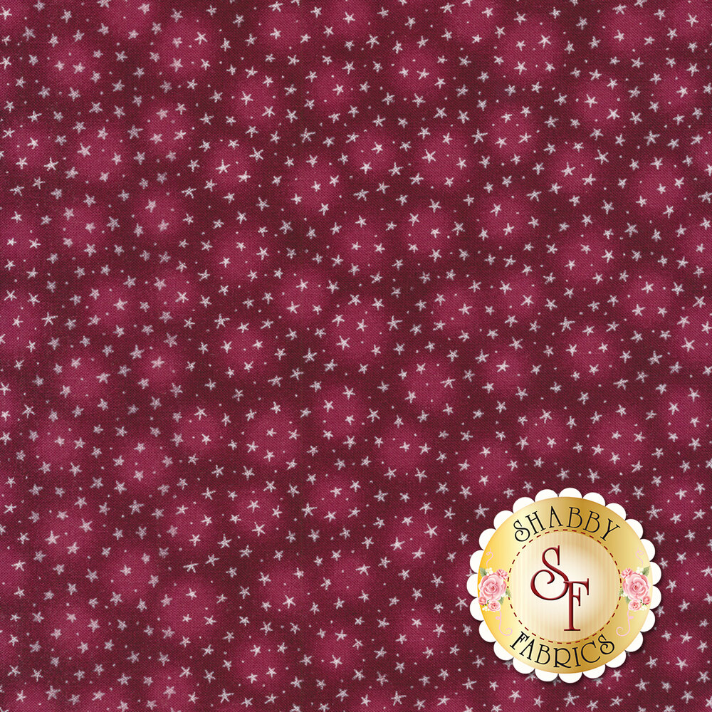Starlet 6383-BERRY by Blank Quilting Fabrics