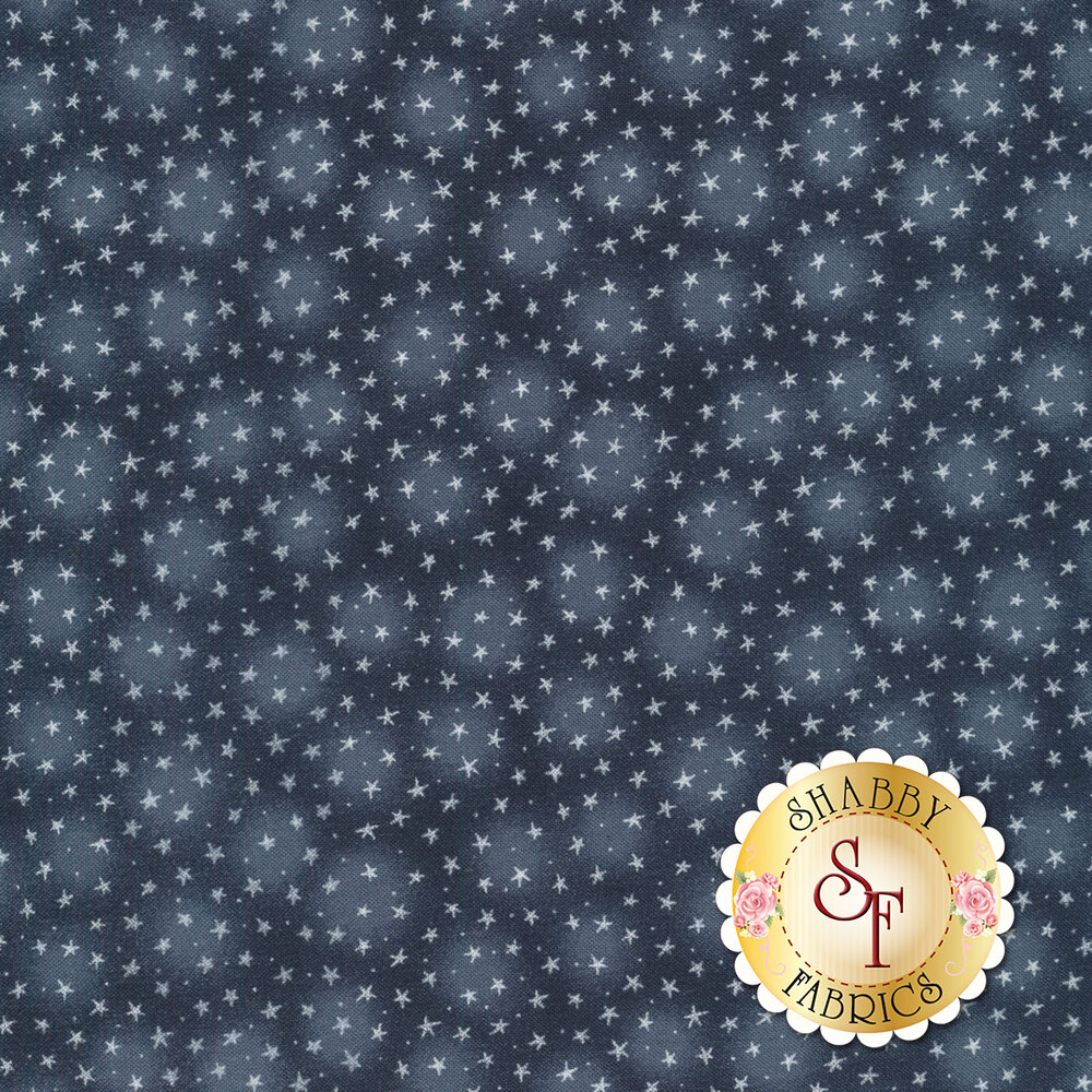 Starlet 6383-Cobalt by Blank Quilting Fabrics
