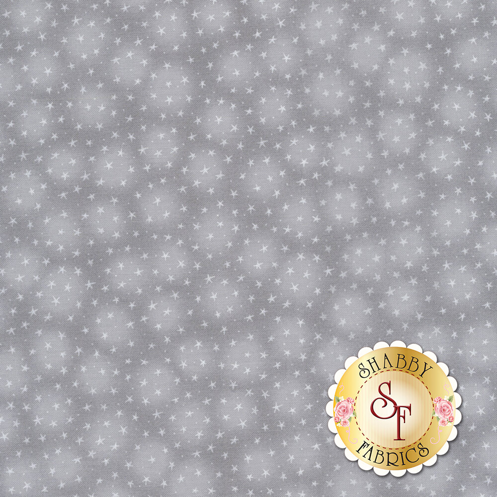 Starlet 6383-Fog by Blank Quilting Fabrics