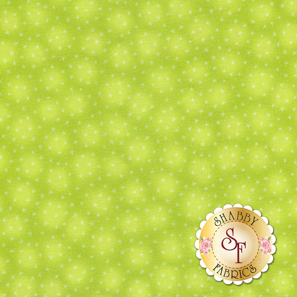 Starlet 6383-Kiwi by Blank Quilting Fabrics