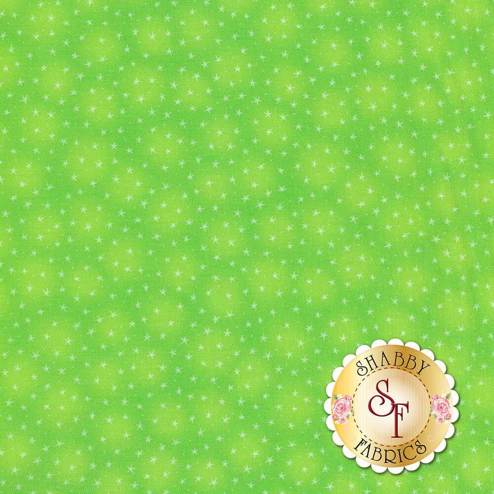 Starlet 6383-Lime by Blank Quilting Fabrics