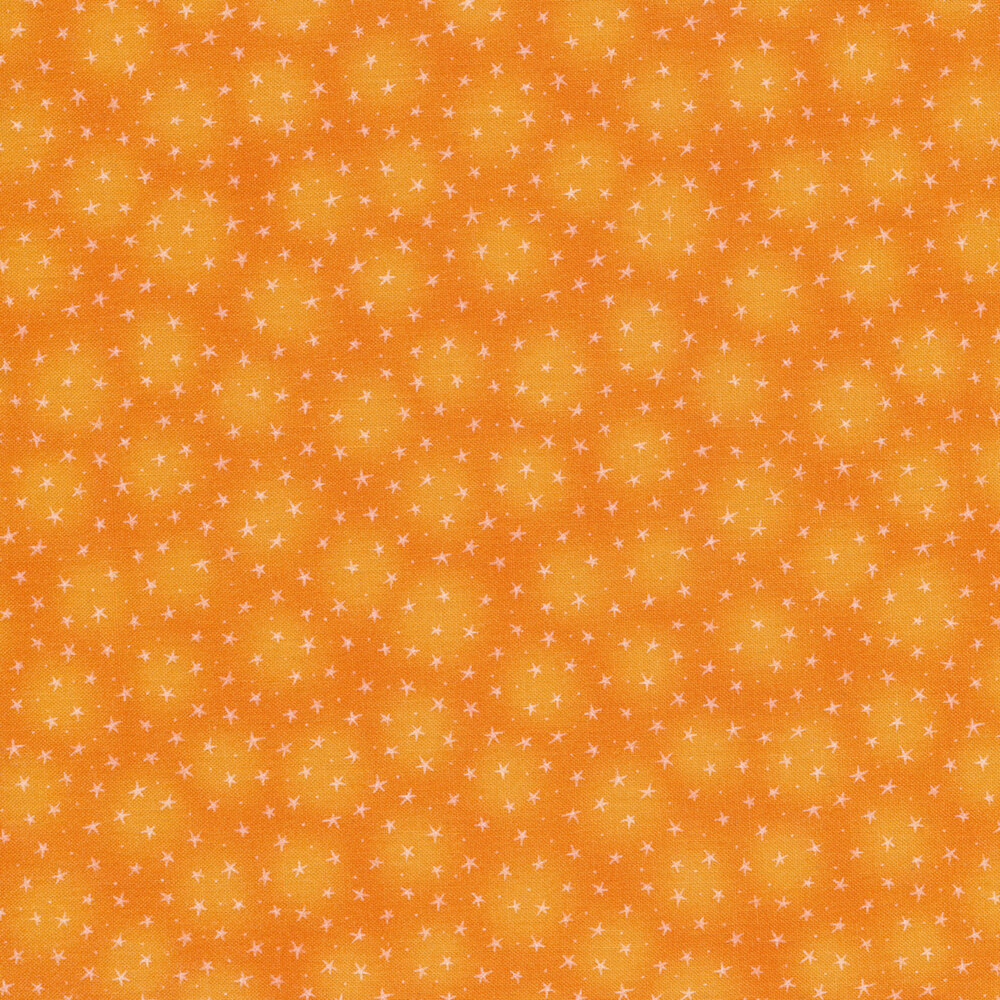 Starlet 6383-Orange by Blank Quilting Fabrics
