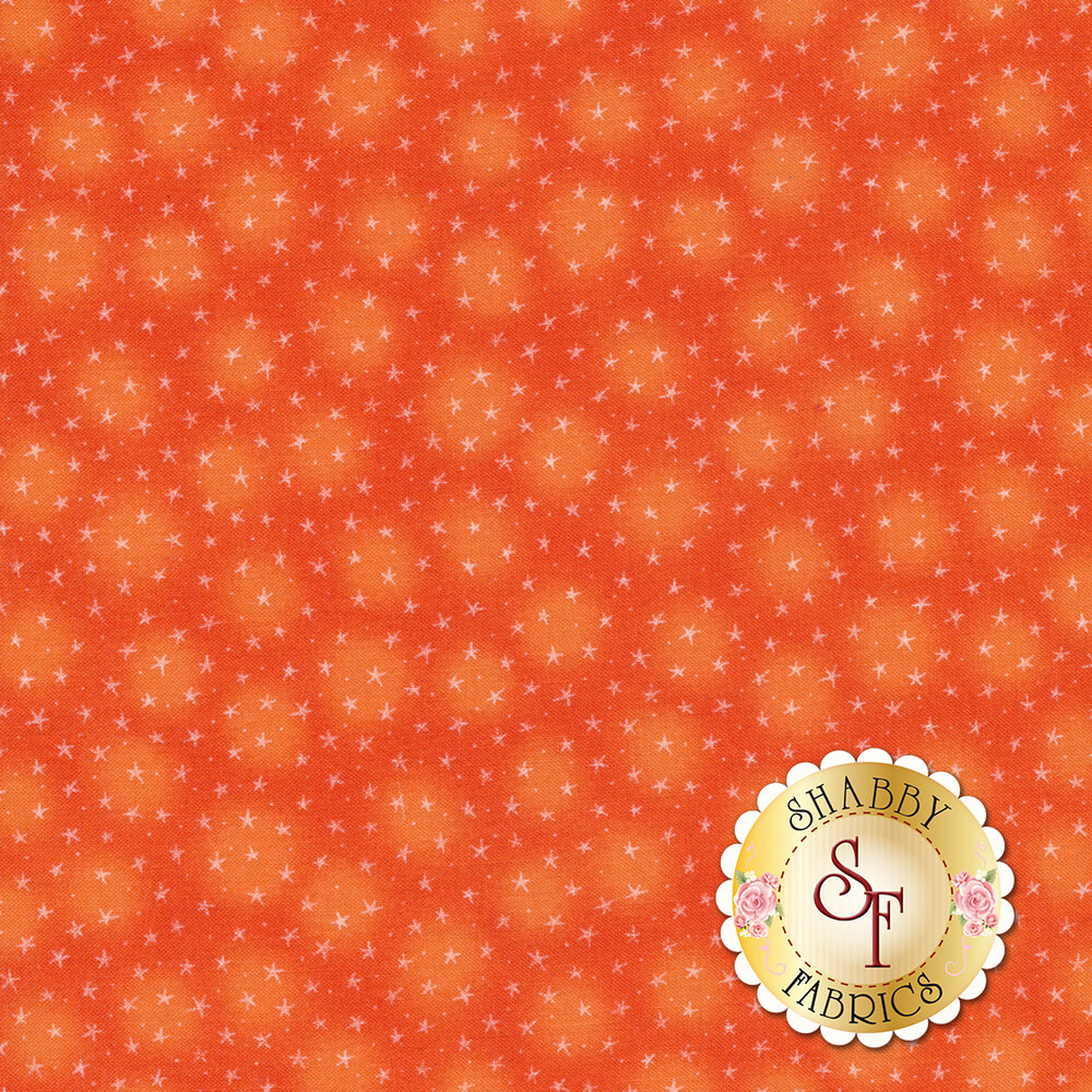 Starlet 6383-Papaya by Blank Quilting Fabrics