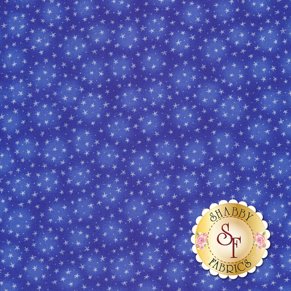 Starlet 6383-Royal by Blank Quilting Fabrics
