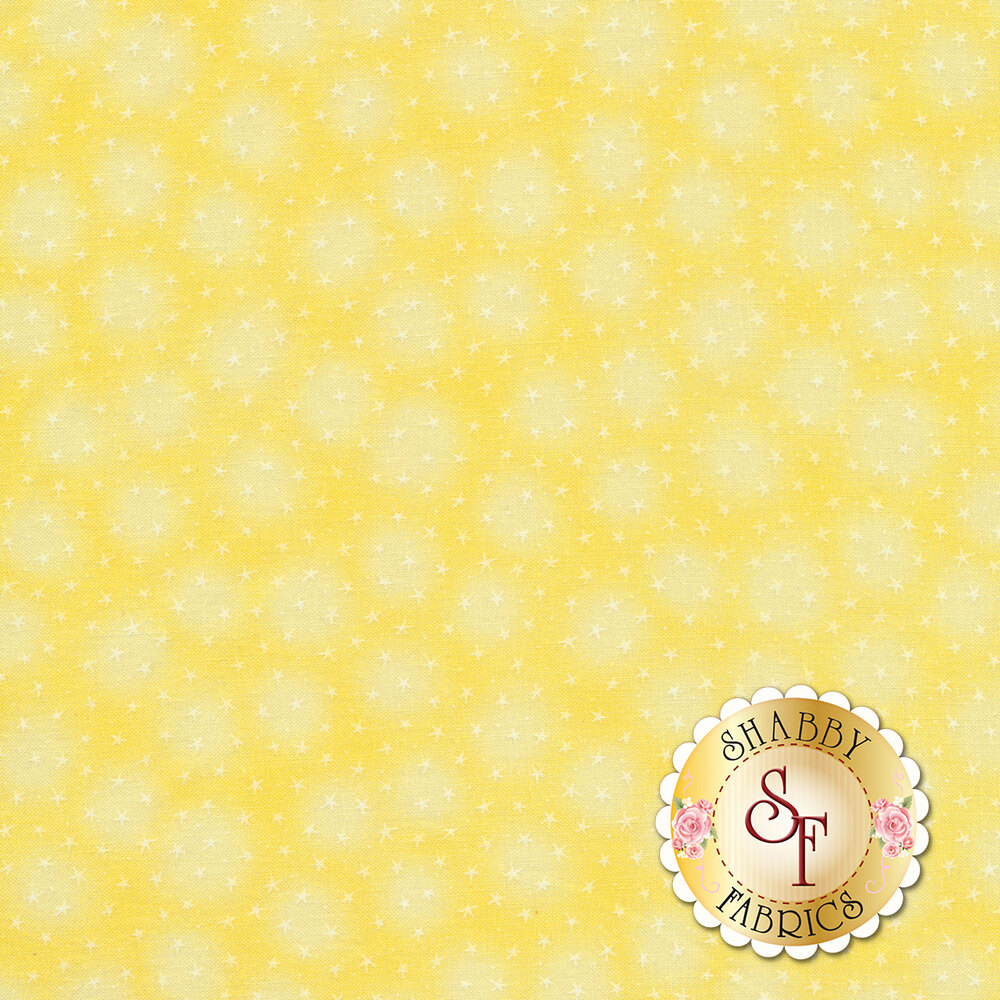 Starlet 6383-Sunshine by Blank Quilting Fabrics