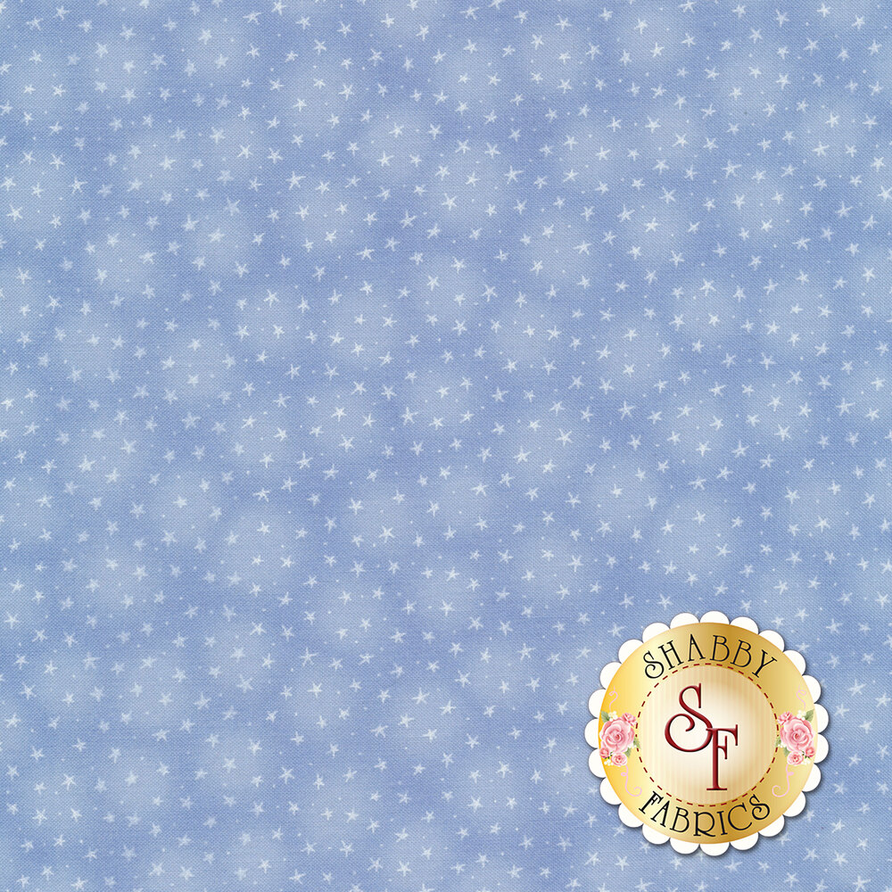 Starlet 6383-Sky by Blank Quilting Fabrics