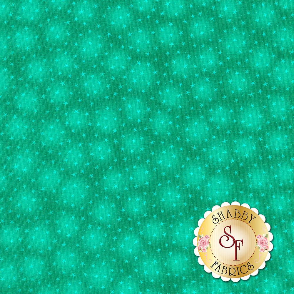 Starlet 6383-Teal by Blank Quilting Fabrics