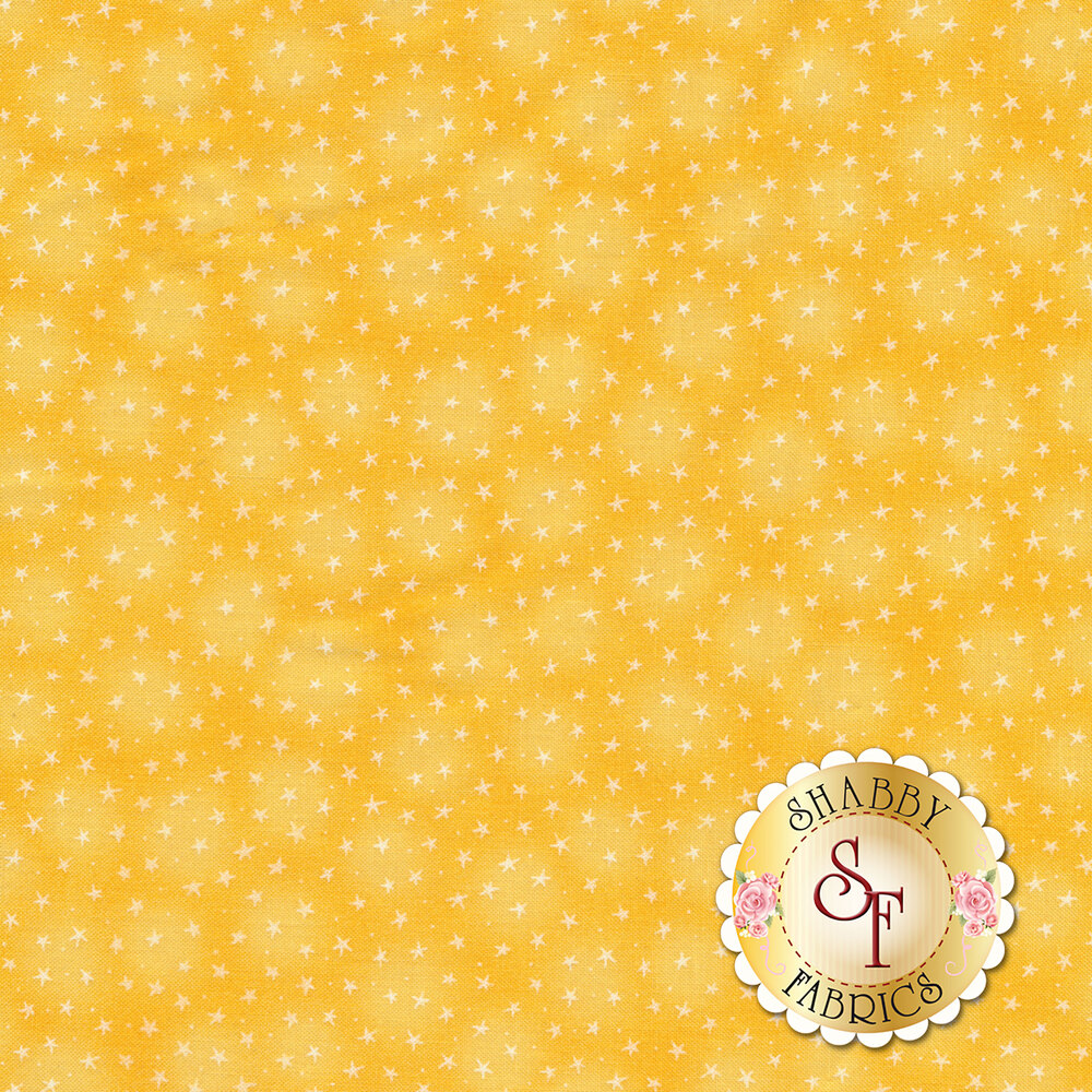 Starlet 6383-Yellow by Blank Quilting Fabrics