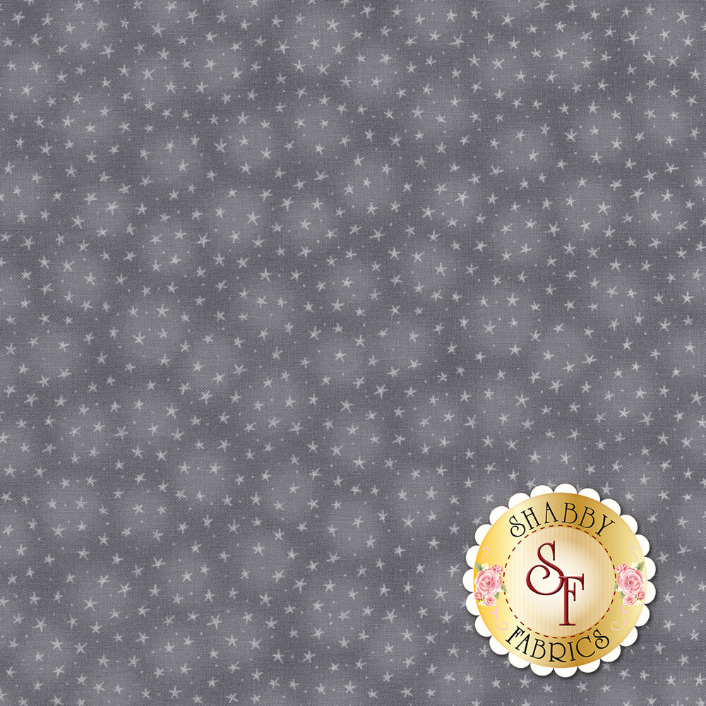 Starlet 6383-Gray by Blank Quilting Fabrics