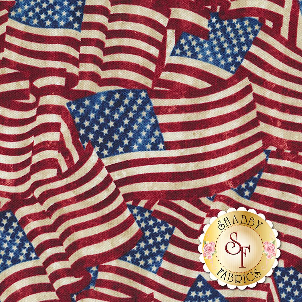 Stonehenge Stars & Stripes 7 20158-49 by Northcott Fabrics at Shabby Fabrics