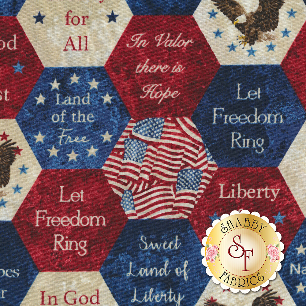 Stonehenge Stars & Stripes 7 22780-49 by Northcott Fabrics at Shabby Fabrics