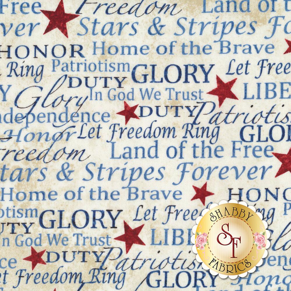 Stonehenge Stars & Stripes 7 39195-30 by Northcott Fabrics at Shabby Fabrics