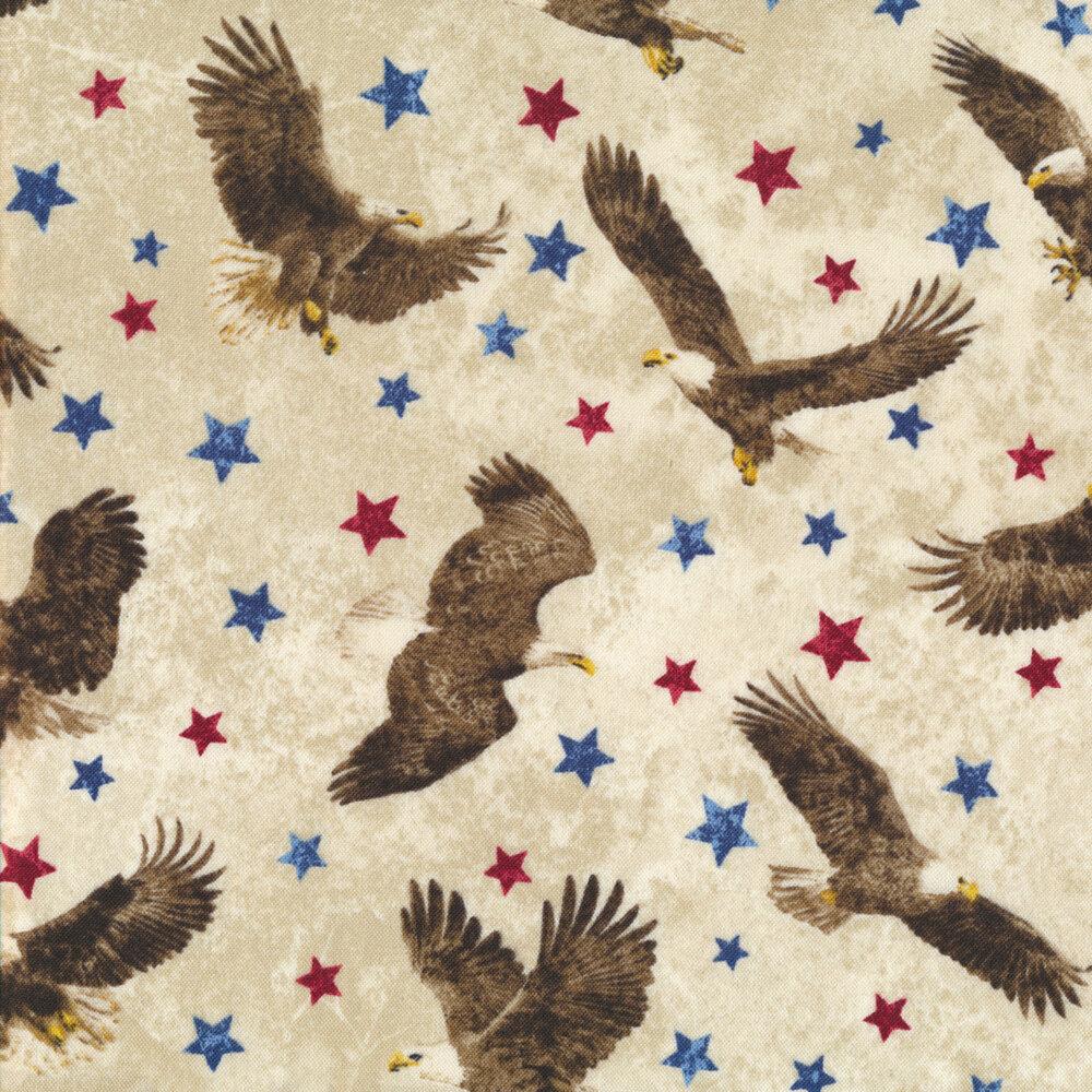 Stonehenge Stars & Stripes 7 39436-30 by Northcott Fabrics at Shabby Fabrics