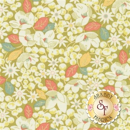 Strawberry Fields Revisited 20265-12 Grass by Fig Tree Quilts for Moda Fabrics
