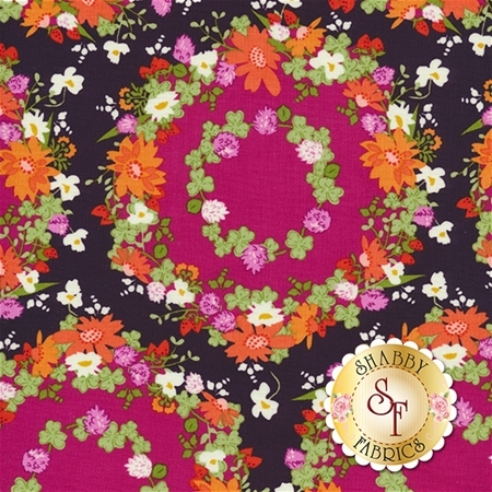 Strawberry Moon DC7307-BERR-D by Michael Miller Fabrics