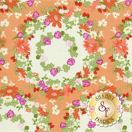 Strawberry Moon DC7307-PEAC-D by Michael Miller Fabrics REM