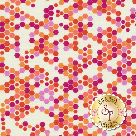 Strawberry Moon DC7309-ORG-D by Sandi Henderson for Michael Miller Fabrics