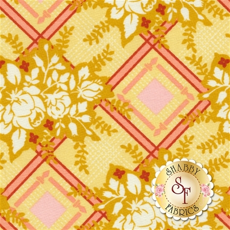 Strawberry Moon DC7310-HONE-D by Sandi Henderson for Michael Miller Fabrics