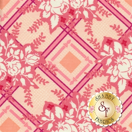 Strawberry Moon DC7310-STRW-D by Sandi Henderson for Michael Miller Fabrics