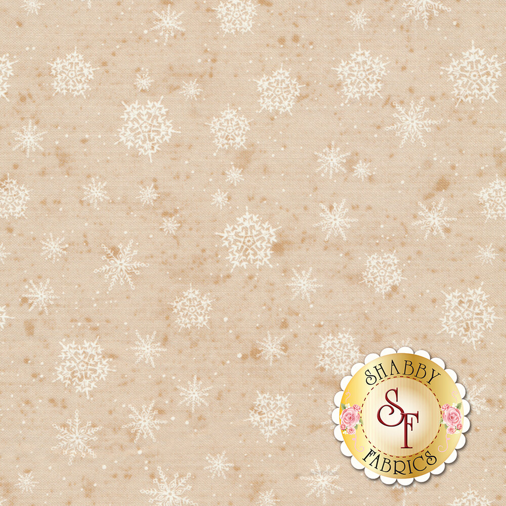 Sugar & Spice 22254-12 Beige by Karen Tye Bentley for Northcott Fabrics