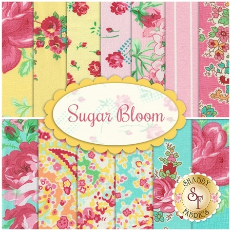 Sugar Bloom 13 FQ Set by Verna Mosquera for Free Spirit Fabrics
