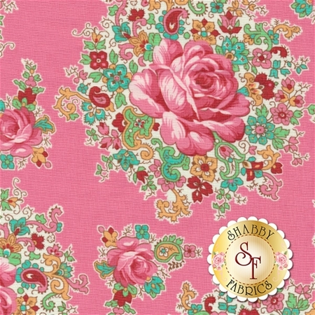 Sugar Bloom PWVM159-STRA by Verna Mosquera for Free Spirit Fabrics