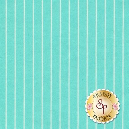 Sugar Bloom PWVM165-AQU by Verna Mosquera for Free Spirit Fabrics