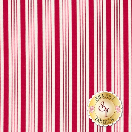 Sugar Plum Christmas 2916-11 Candy Red by Bunny Hill Designs for Moda Fabrics