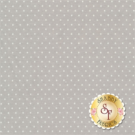 Sugar Plum Christmas 2918-19 Mouse Grey by Bunny Hill Designs for Moda Fabrics