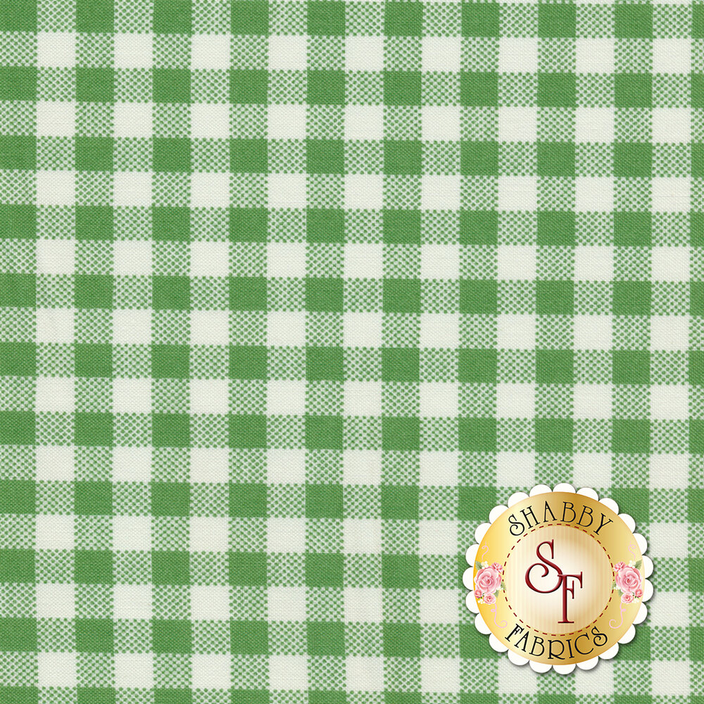 Sugar Sack 50432-6 Green Gingham Check by Windham Fabrics