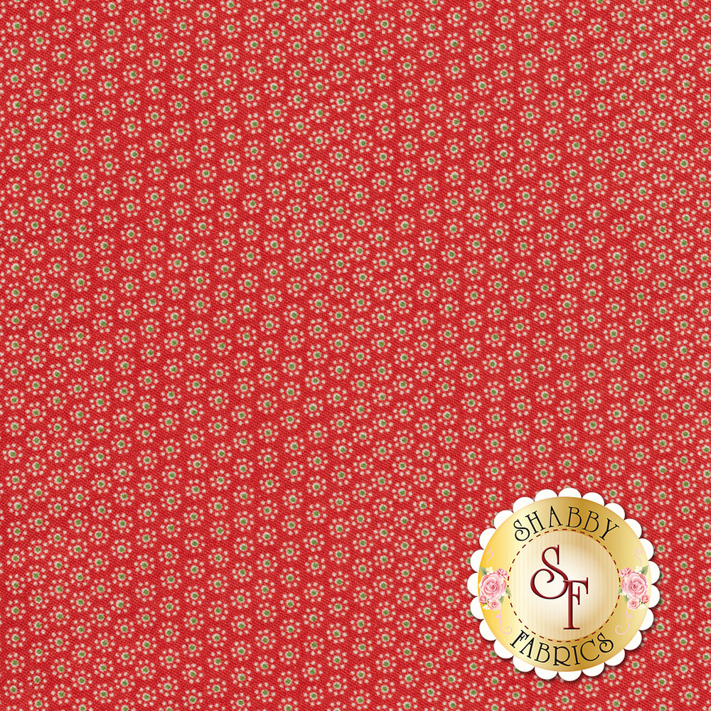 Sugar Sack 50433-1 Red Daisy Dot by Windham Fabrics