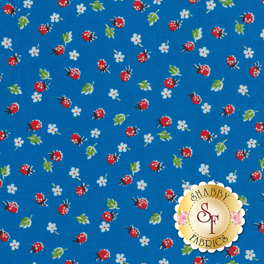 Sugar Sack 50434-2 Blue Berries by Windham Fabrics