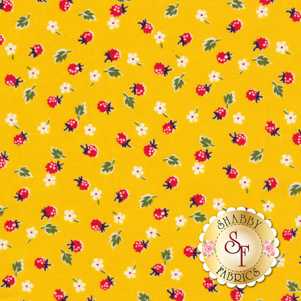 Sugar Sack 50434-3 Yellow Berries by Windham Fabrics