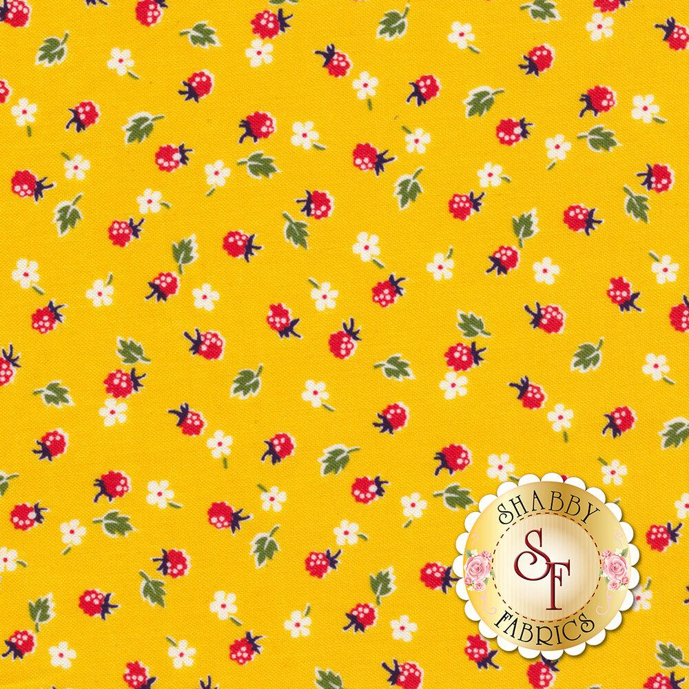 Sugar Sack 50434-3 Yellow Berries by Windham Fabrics