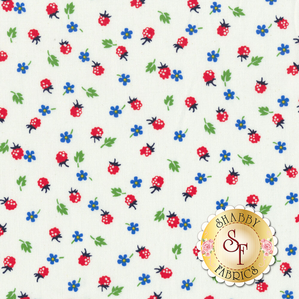 Sugar Sack 50434-5 Ivory Berries by Windham Fabrics