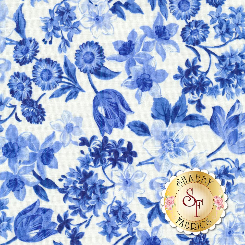 Summer Breeze VI 33370-11 Ivory by Moda Fabrics