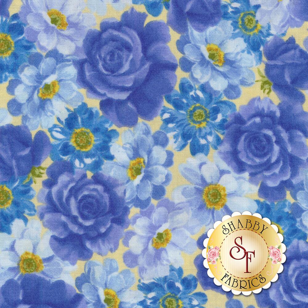 Summer Breeze VI 33371-12 Yellow by Moda Fabrics