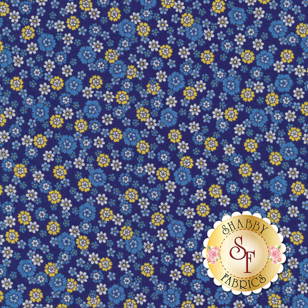 Summer Breeze VI 33374-15 Navy by Moda Fabrics