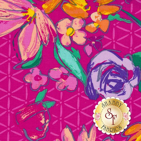 Summer Garden 1308-26 by Benartex Fabrics