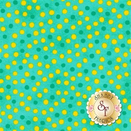 Summer Garden 1312-40 Dot Green by Benartex Fabrics